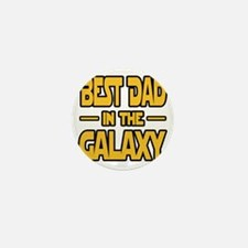 Best Dad in the galaxy SW Mini Button
