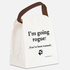 Im going rogue2 Canvas Lunch Bag