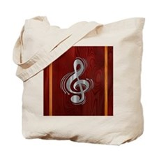 clef-woodsteel-LG Tote Bag