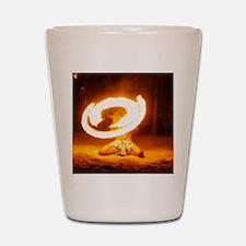 Fire!! Shot Glass