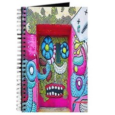 New York Graffiti Urban Flip Flops Journal
