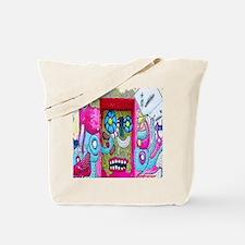New York Graffiti Urban Flip Flops Tote Bag