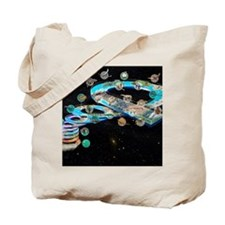 Evolution of life, artwork Tote Bag