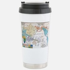 Ernst Haeckel Map Lemur Travel Mug