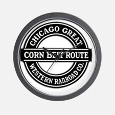 Corn Belt Route Wall Clock