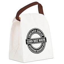 Corn Belt Route Canvas Lunch Bag
