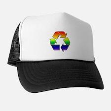 Rainbow Recycle Arrows Trucker Hat