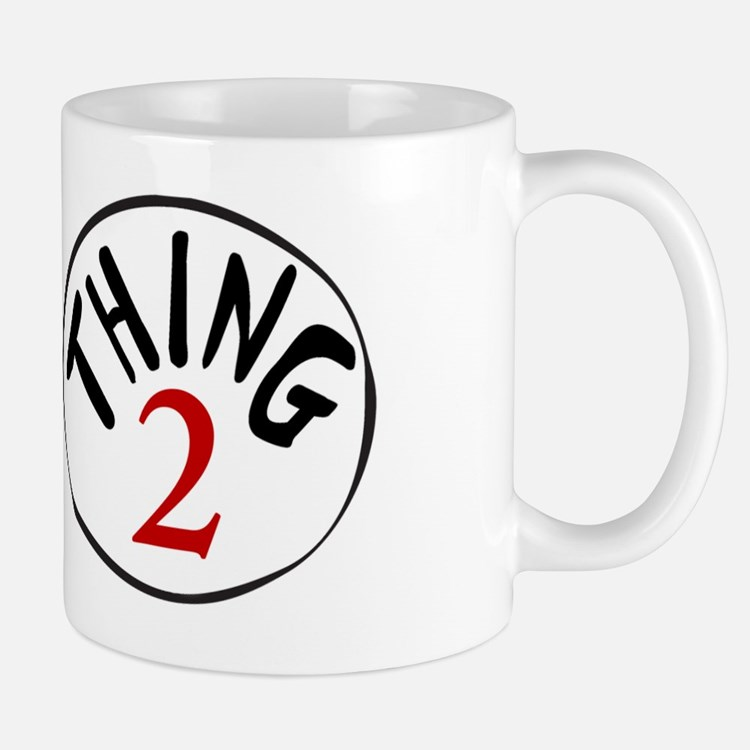 Thing 1 and Thing 2 Mug