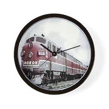 Monon Train Wall Clock