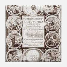 Mylius' Philosophia reformata Tile Coaster