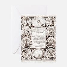 Mylius' Philosophia reformata Greeting Card