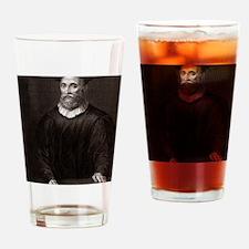 John Knox, Scottish theologian Drinking Glass