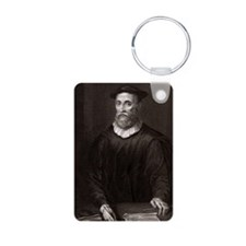 John Knox, Scottish theolo Aluminum Photo Keychain
