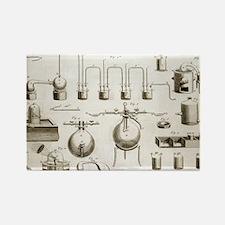 Lavoisier equipment, 1787 Rectangle Magnet