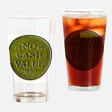 Token Drinking Glass