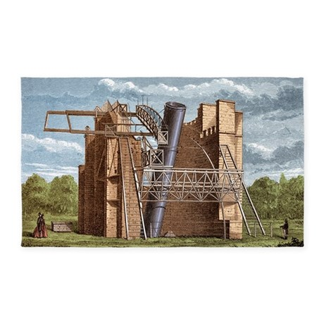 Lord Rosse's Great Telescope 3'x5' Area Rug