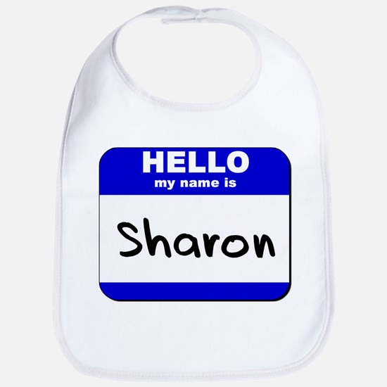 hello my name is sharon  Bib