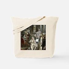 Hennig Brand discovering phosphorus Tote Bag