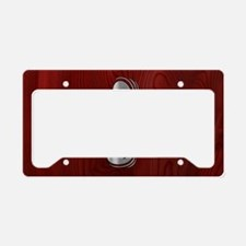 clef-woodsteel-OV License Plate Holder