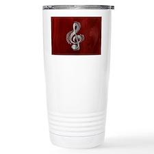 clef-woodsteel-OV Thermos Mug