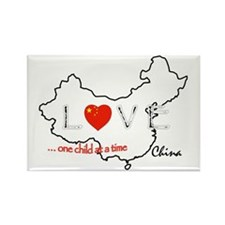 LoveChina4light Rectangle Magnet