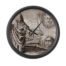 Hermes Trismegistus, classical go Large Wall Clock