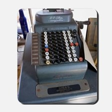 Old American cash register Mousepad