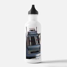 Old American cash regi Water Bottle