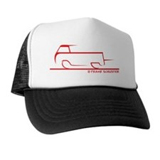 speedy single cab red Trucker Hat