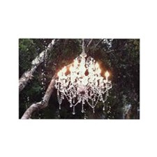 Tree Chandelier Rectangle Magnet