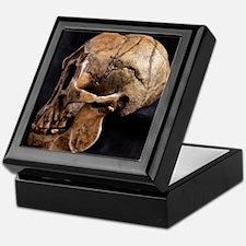 Homo floresiensis skull Keepsake Box
