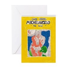 miguel angelo Greeting Card