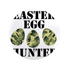 "Easter Egg Hunter 3.5"" Button"
