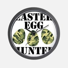 Easter Egg Hunter Wall Clock