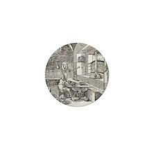 Saint Jerome, 16th-century bible Mini Button