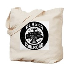 Alaska Railroad 1958 Tote Bag