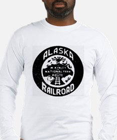 Alaska Railroad 1958 Long Sleeve T-Shirt