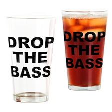 DROP THE BASS Drinking Glass