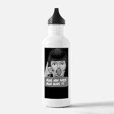 Allo non mais allo quo Water Bottle