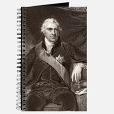 Sir Joseph Banks, English naturalist Journal