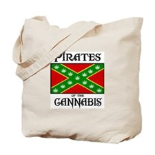 Pirates of the Cannabis Tote Bag