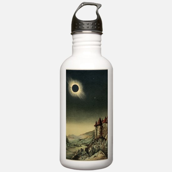 Total solar eclipse of Water Bottle