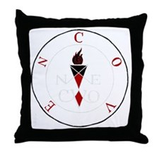 Coven Magick Sigil Throw Pillow