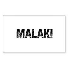 Malaki Rectangle Decal
