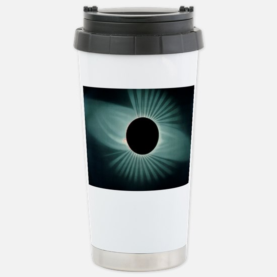 Total solar eclipse, 18 Stainless Steel Travel Mug