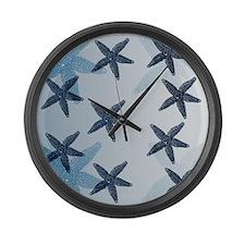 Starfish Large Wall Clock