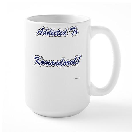 Komondor Addicted Large Mug