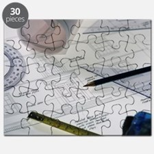 Architectural drawings Puzzle