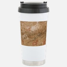 Pictograph of humans an Stainless Steel Travel Mug