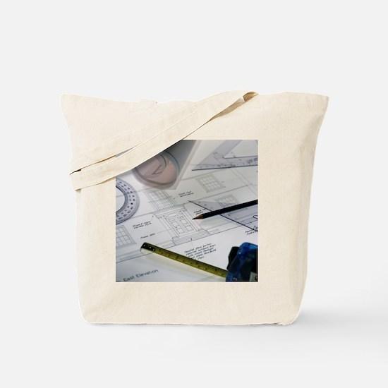 Architectural drawings Tote Bag